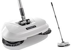 Spinning Cordless Push-Power Broom 3 in 1 | 360 Degree Rotat