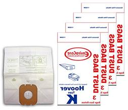 EnviroCare Replacement Vacuum Bags for Hoover Type K Caniste