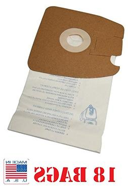 18 Eureka Style MM Canister Vacuum Bags for Mighty Mite Cani