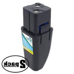 2-Pack 7.2V NIMH Battery for Ontel Swivel Sweeper RU-RBG