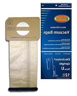 24 Generic Electrolux Upright Style U Allergy Vacuum bags Ae