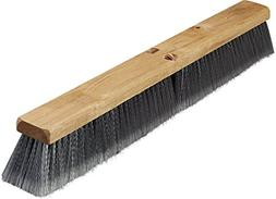 Carlisle 3621952423 Hardwood Block Flagged Floor Sweep, Poly