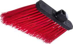 "Carlisle 3686805 Duo-Sweep UnFlagged Angle Broom Head, 8"", R"