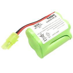 HQRP 4.8V Battery for Shark Floor and Carpet Sweeper Euro-Pr