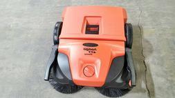 "Haaga 477 Profi-line Deluxe Manual Triple Brush Sweeper, 31"""