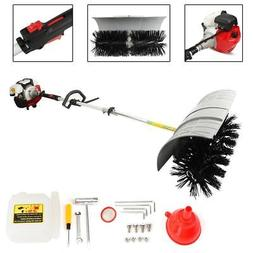52CC GAS POWERED SWEEPER BROOM HAND HELD CONCRETE CLEANING D