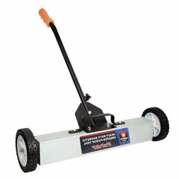 "Neiko 53418A 36"" Magnetic Pick-Up Sweeper with Wheels 30 lb,"