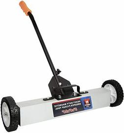Neiko 53418A Magnetic Pick-Up Sweeper With Wheels 30 Lb, 36