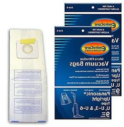 EnviroCare Replacement Vacuum bags for Panasonic Types U, U-