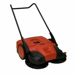 "Haaga 497 Profi-line Deluxe Manual Triple Brush Sweeper, 38"""