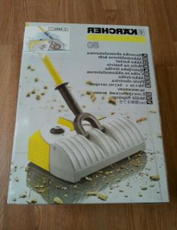 NEW Karcher K50 Electric Broom Hard Wood Floor Carpet Vacuum