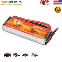 2S 7.4V 1000mAh 20C JST Plug LiPo Battery For For Car Truggy