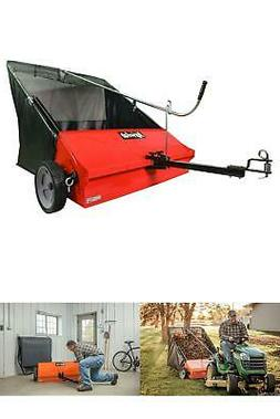 Agri-Fab Lawn Sweeper 45-0492 44-Inch Tow-Behind Grass Leave