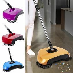 Automatic Hand Push Sweeper Magic Spinning Broom Household S