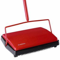 """CASABELLA Carpet Sweeper 11"""" Electrostatic Floor Cleaner Cor"""