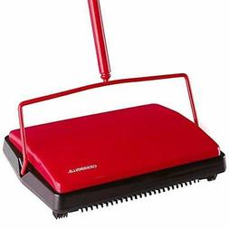 "Casabella Carpet Sweeper 11"" Electrostatic Floor Cleaner - R"