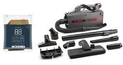 Oreck Commercial BB900DGR XL Pro 5 Super Compact Canister Va