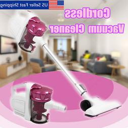 Cordless Handheld Upright Stick Bagless Vacuum Cleaner Recha