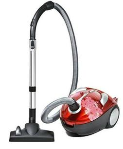 Dirt-Devil-Crimson-Canister Small Vacuum Cleaner Lightweight