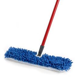 Dual-Action Microfiber Flip Mop Damp/Dry All Surface Mop