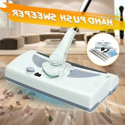 Electric Automatic Hand Push Sweeper 360° Spin Broom Househ