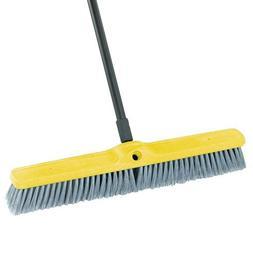 """Rubbermaid Commercial Fine Floor Sweeper, Styrene Fill, 24"""""""