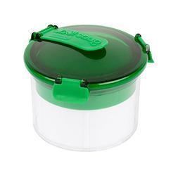 Casabella Guac-Lock Container, Green/White, New