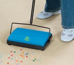 Hard Floor Sweeper Vacuum Cordless Kitchen Broom Carpet Manu