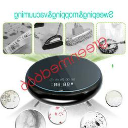 Home Safty Smart Robot Vacuum Cleaner Auto Cleaning Microfib