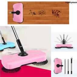 household hand push sweeping broom 360 rotary