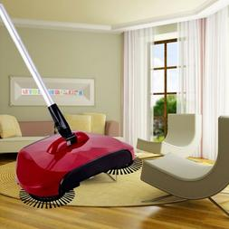 Household Hand Push Sweeping Broom 360 Rotary Floor Dust Cle