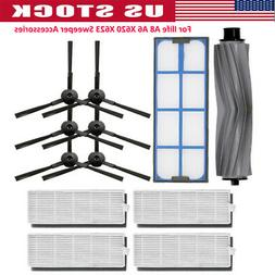 For Ilife A8 A6 X620 X623 Sweeper Accessories Filter Side Br