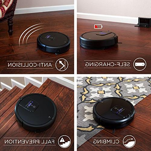 Best Choice Powerful Noise Vacuum Sweeper Mopper Smart Cleaning w/ Remote, Voice Base -