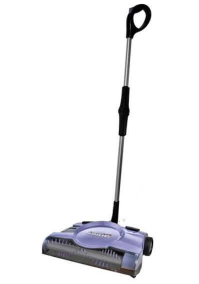 12 rechargeable floor and carpet sweeper
