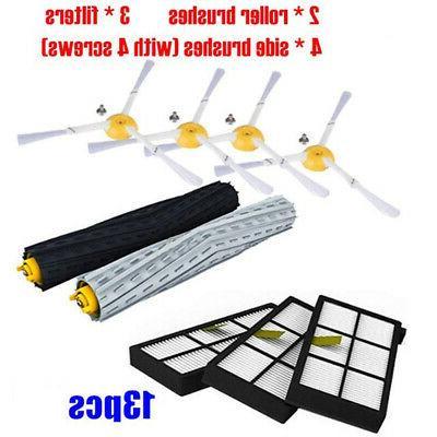 13 Vacuum Sweeper Accessories For IRobot Roomba 896