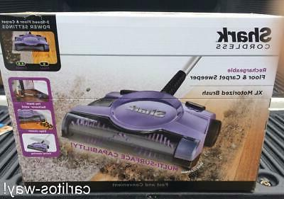 13 rechargeable floor and carpet sweeper vacuum