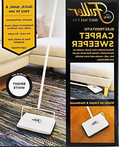 """Fuller Electrostatic & Floor Sweeper 9"""" Bright"""
