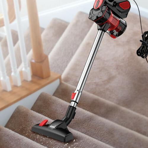 18KPa Cleaner 2 in 1 LED Car Floor