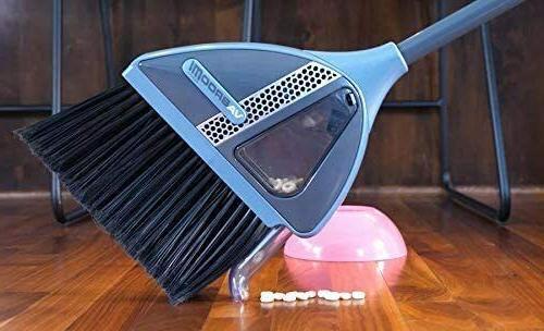 VaBroom 2-in-1 Built-in Vac Broom
