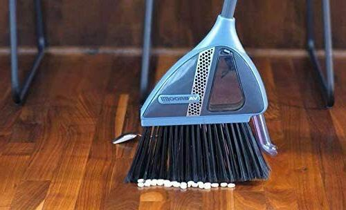VaBroom 2-in-1 Sweeper with Built-in Vacuum, Vac Broom