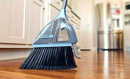 2 in 1 sweeper with built in