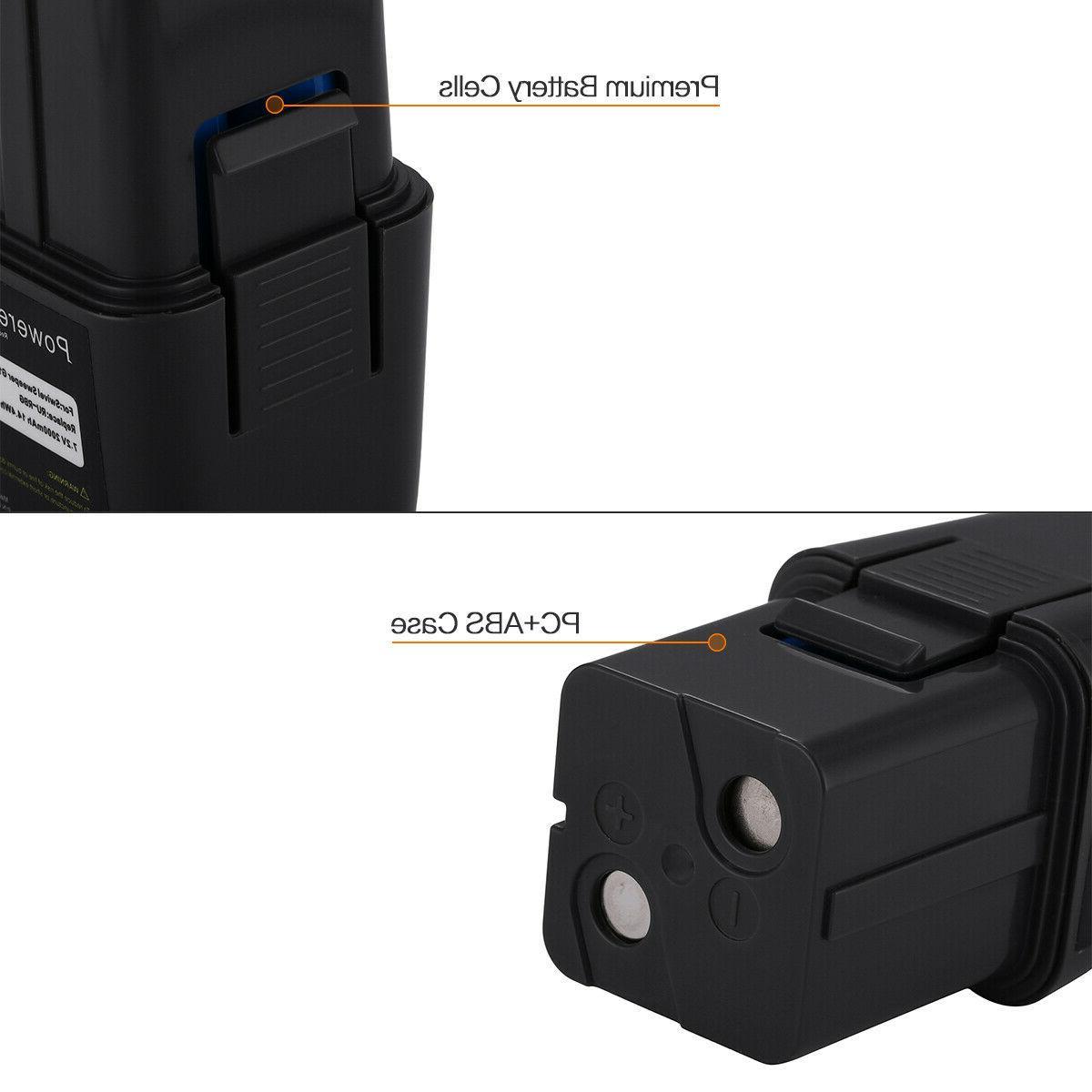 7.2V 2000mAh Ni-MH Battery for Ontel Swivel Sweeper G2