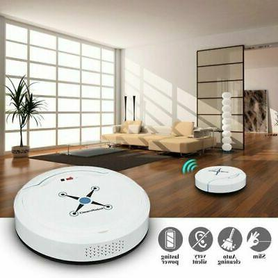 3 Smart Robot Vacuum Cleaner Auto Cleaning Microfiber Sweeper