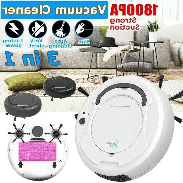 3 in 1 Smart Sweep Robot 1800Pa Vacuum Cleaner Floor Edge Au