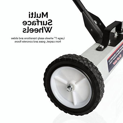 """Neiko 53418A Pick-Up Wheels 30 lb, 36"""""""