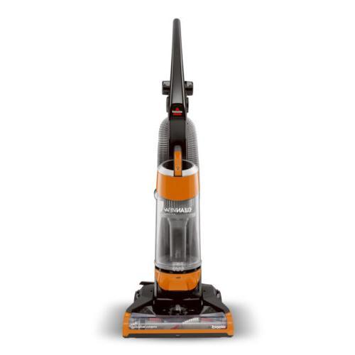 Bissell - Cleanview Bagless Upright Vacuum - Samba Orange