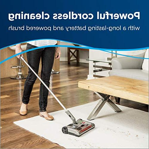 Bissell Perfect Sweep Cordless Sweeper Driftwood