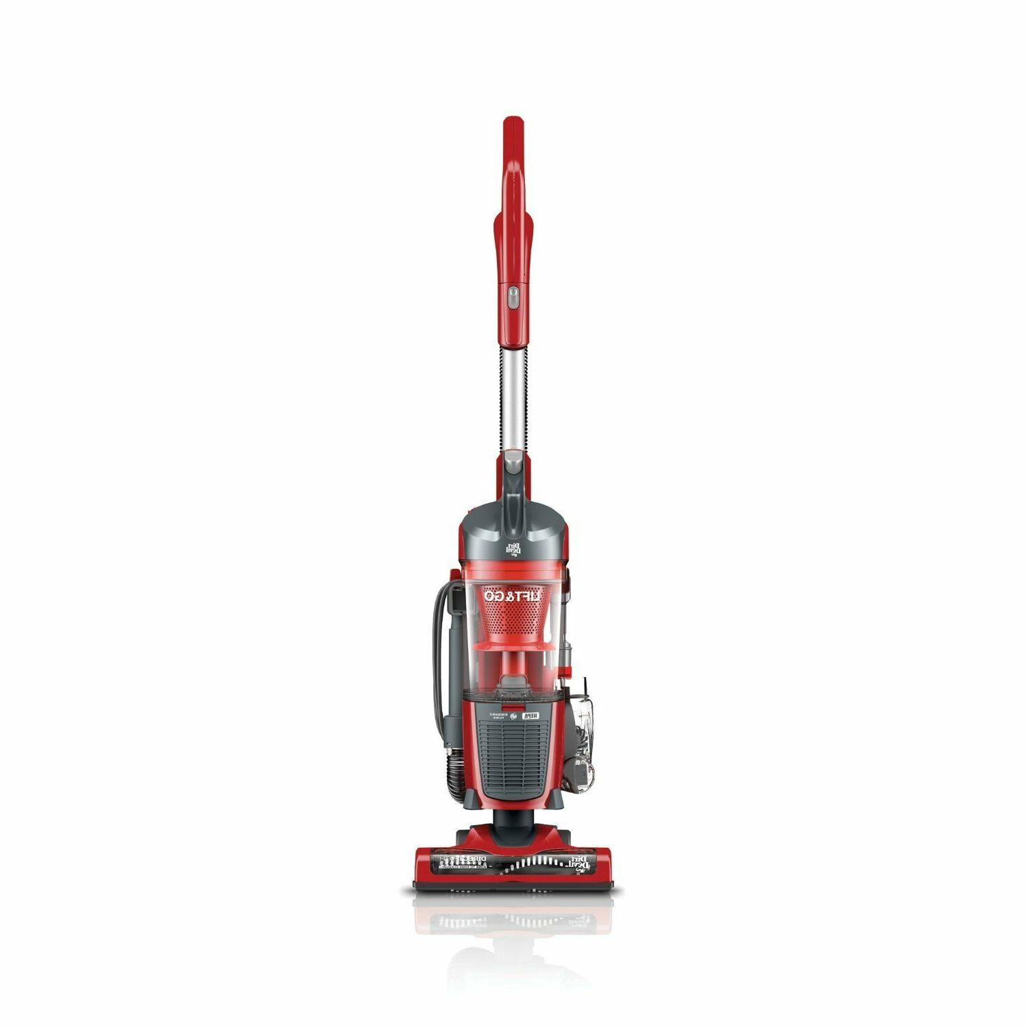 Dirt Devil Lift and Go Vacuum with Swipes, Red - Corded