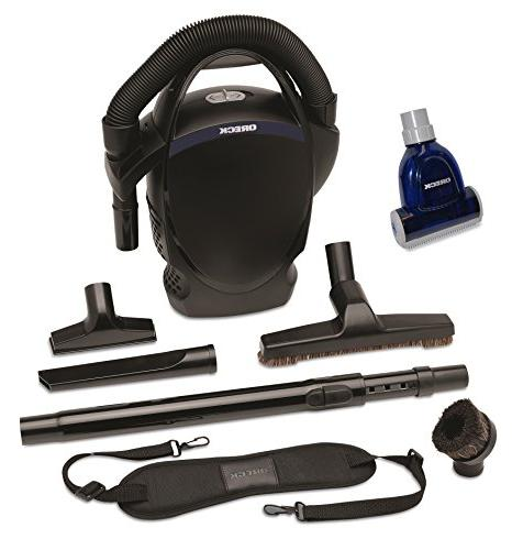 Oreck Ultimate Handheld Bagged Canister Vacuum Bundle With H