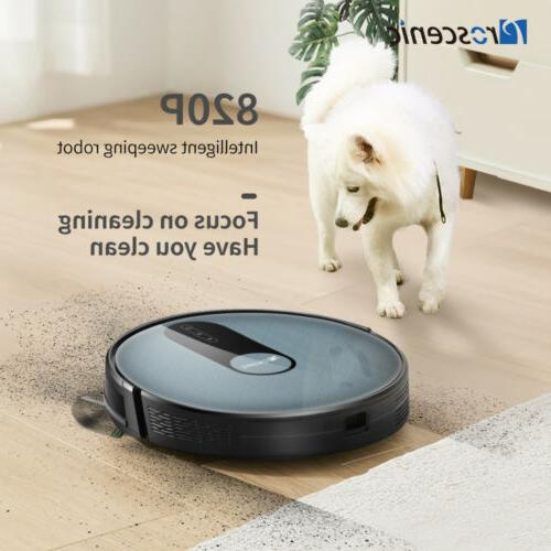 Alexa Robotic Robot Floor Hair Dirt Automatic